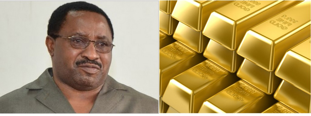 Director of Criminal Investigations (DCI) Yesaya Mngulu (Left) on the smuggled gold: I have not heard anything about this.