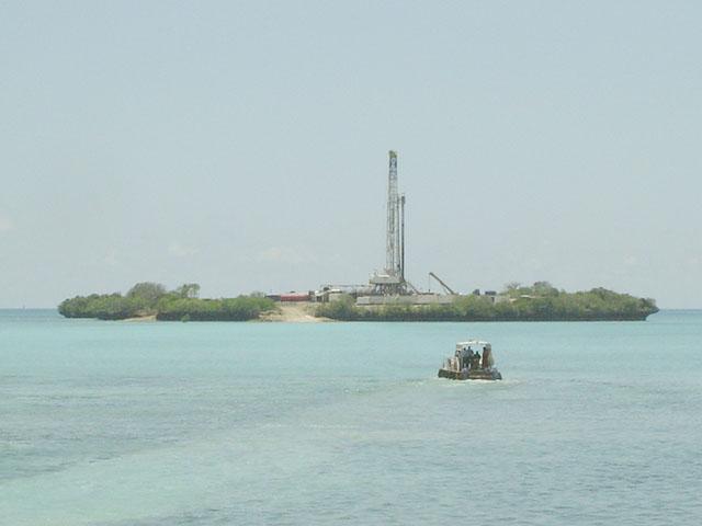 Tanzania Petroleum Development Corporation (TPDC) Songo Songo gas rig