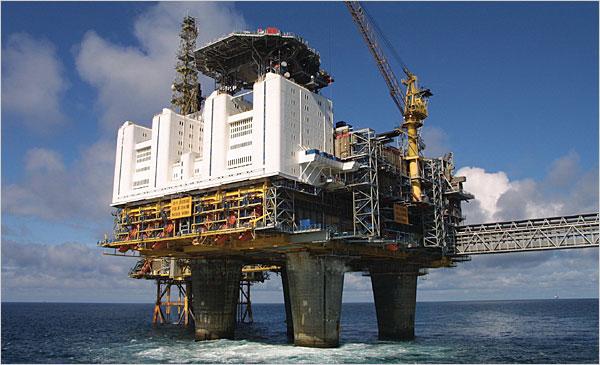 Statoil Off-shore Rig (Internet Photo)