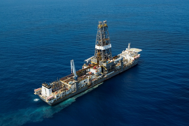 Gas Wells Drill Ship Discoverer Americas