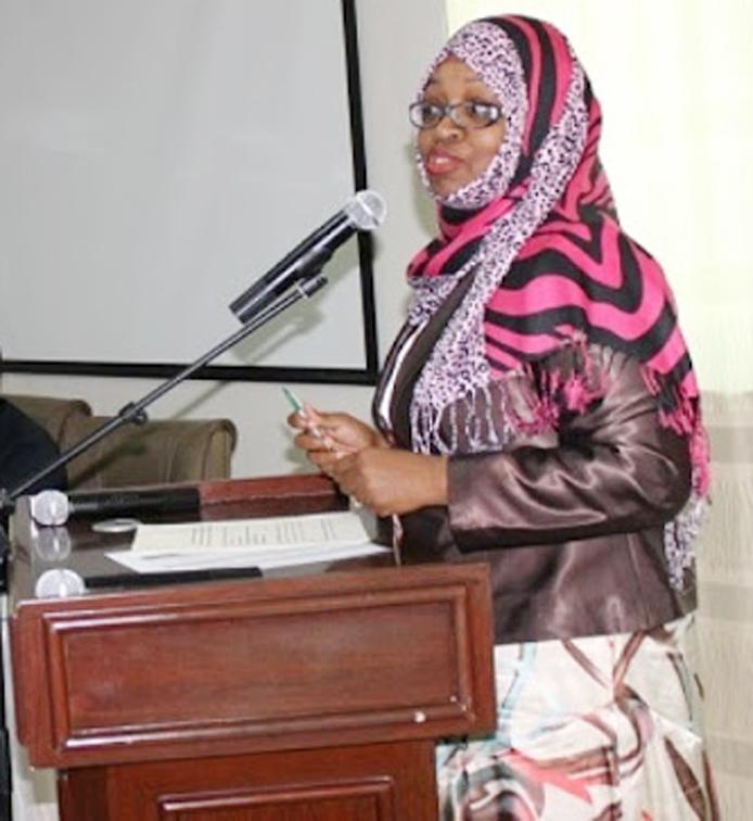 Tanzania Minister for Finance and Economic affairs Saada Salum Mkuya