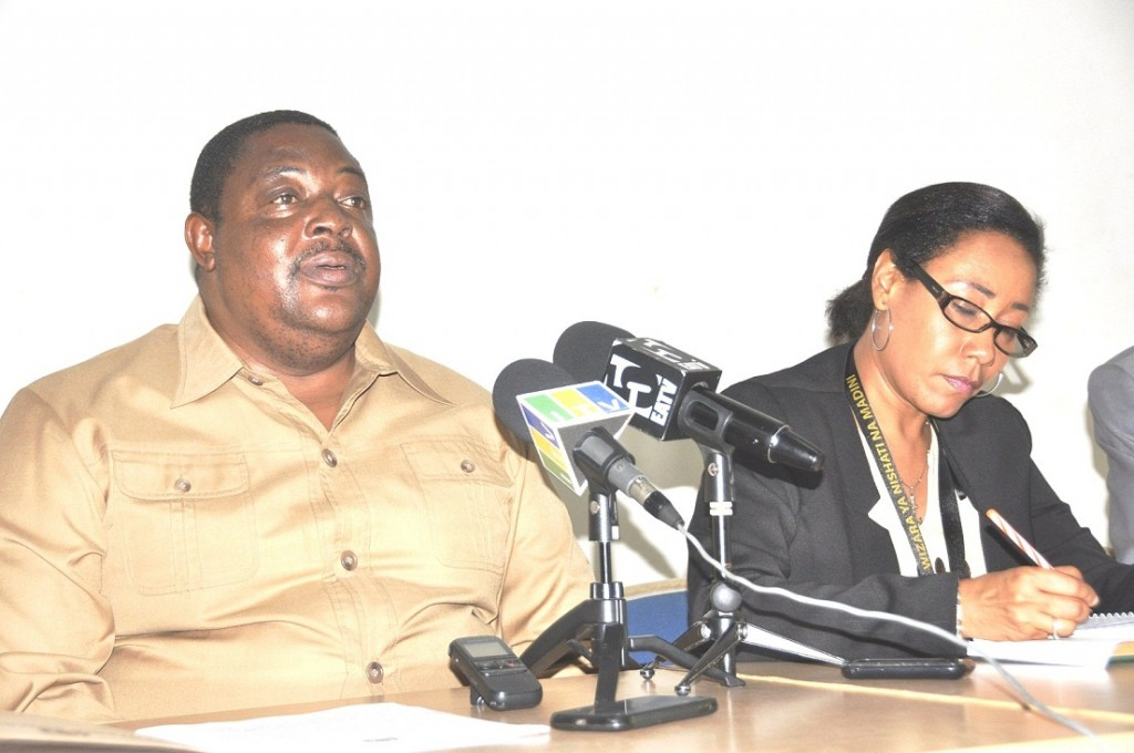 Paul Masanja During a Recent Press Conference (Internet File Photo)