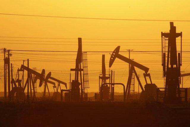 An Oil Field in California