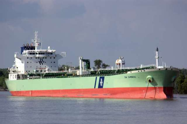 The oil tanker BW Zambesi  Shipping Crude Oil from USA to South Korea