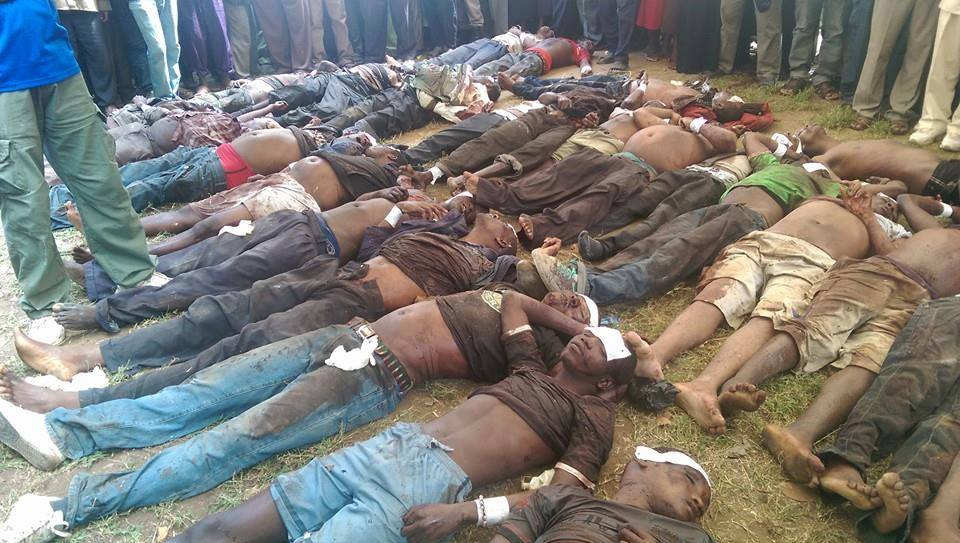 Victims of the Al Shabaab Attack on unarmed men at Mpeketoni on the Kenyan coast