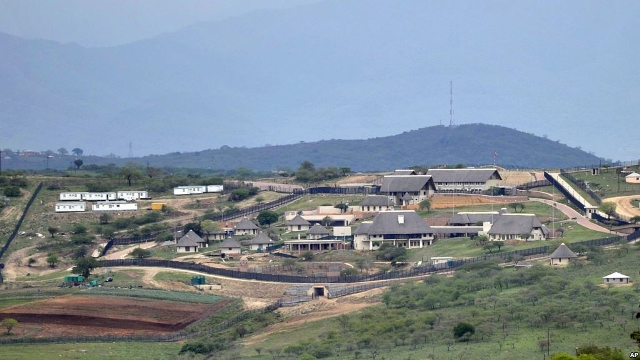 South African President Jacob Zuma's Private Home built with Government Funds
