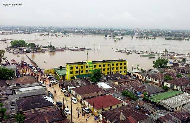Floods on Dar es Salaam's Jangwani Area on May 7, 2015. Social Media Photo