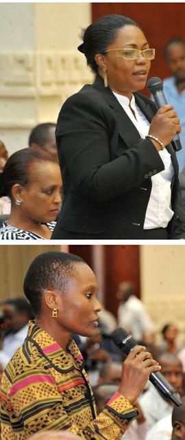 Above, FSOs pose questions: Photo Credits: KVIS Blog.