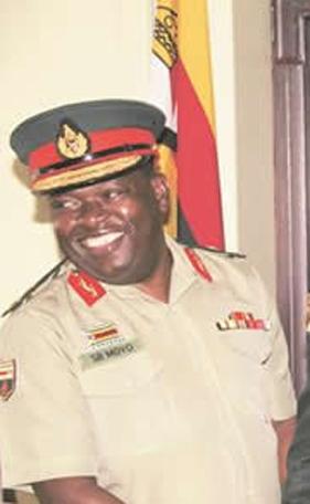 Zimbabwe National Army Major-General Sibusisiwe Moyo