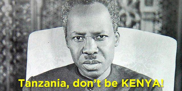 DONT BE KENYA