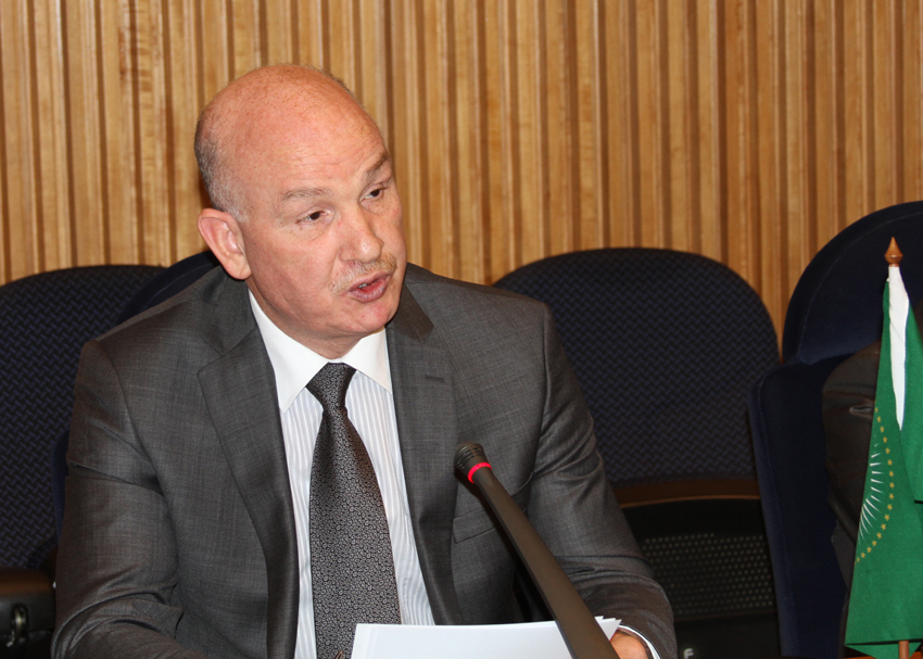 The African Union Commissioner for Peace and Security, Ambassador Smail Chergui