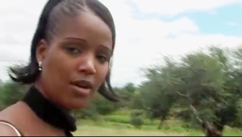 Oviritje Artist from Namibia (Screen grab)