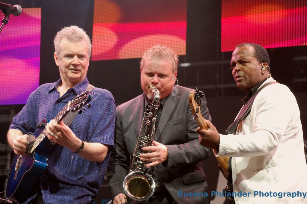 The jazz group JazzAttack performs at the 2016 Cape Town International Jazz Festival