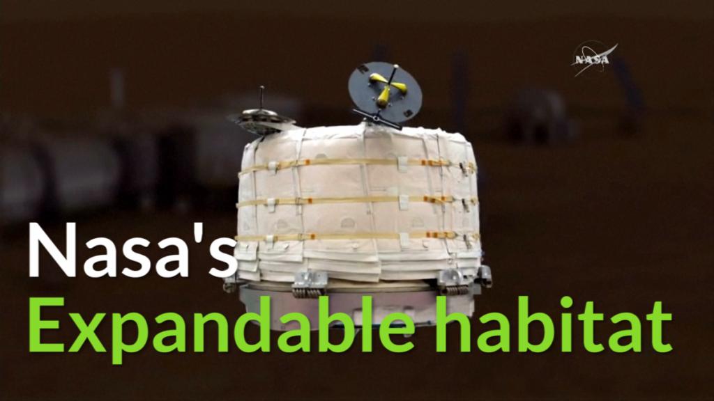 Nasa expandable 'house'