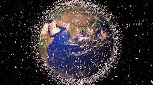 Junk in space that is likely to lead into international confrontation: An artist impression (Internet Photo)