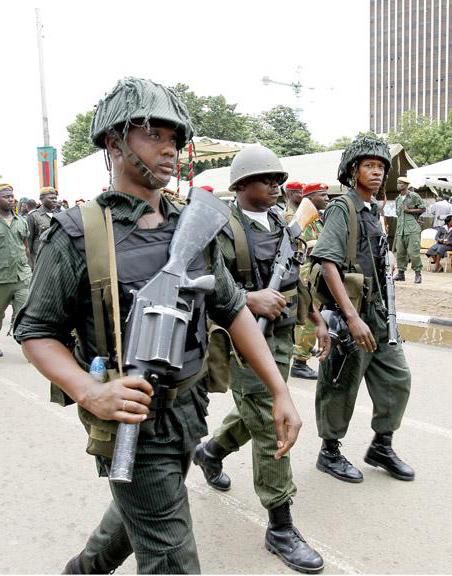 Zambia Riot Police