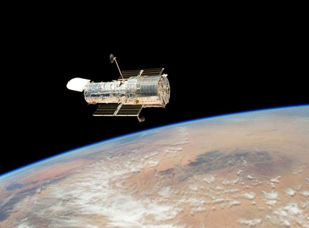 Hubble Space Telescope (Internet Photo)