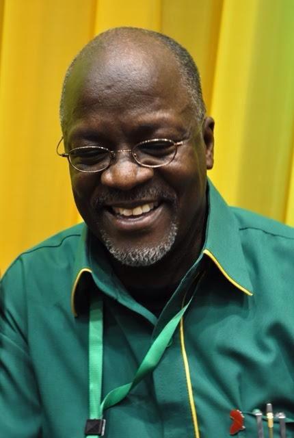 Dr. John Pombe Magufuli, President of the United Republic of Tanzania