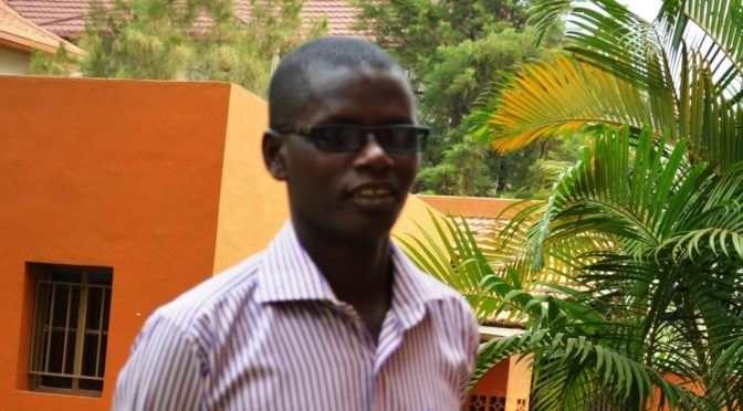 Burundian Journalist Jean Bigirimana