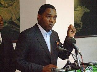 UPND Patry President, Mr. Hakainde Hichilema