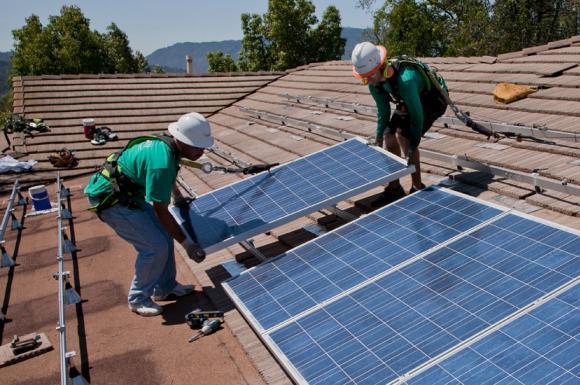 Solar energy panels (Internet Photo)